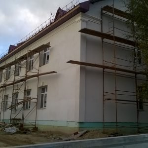Здание локомотивных бригад. г. Тобольск (2016 г.)