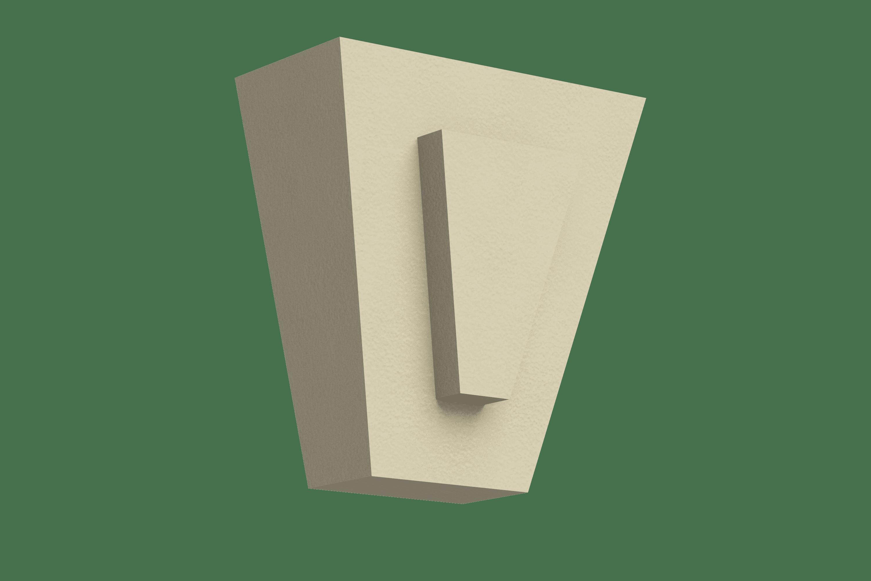 Замковый камень ЗК-220/1