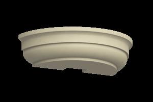 Капитель полуколонны КПК-400